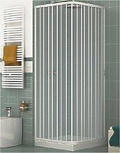 PVC Duschkabine 80x90 mit seitlicher Öffnung Mod.