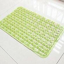 Pvc-geschmacklos großes badezimmer anti-rutsch matte Saug tasse massagematte Nehmen eine badematte Dusche gummimatte-B 45x45cm(18x18inch)