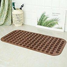 Pvc große non slip badematte mit leistungsstarke