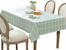 PVC kariert Tischdecke,Einfache couchtisch