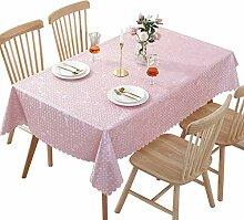PVC-Kunststoff-Tischdecke, wasserfest, für