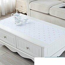 Pvc Lace Schrank Matt,Kleines Frisches Tisch Tuch Tisch Matt,Kunststoff Ländlichen Europäischen Tischdecke-C 50x50cm(20x20inch)