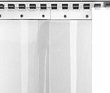 PVC-Lamellenvorhang Streifenvorhang 30cm breite