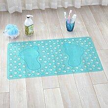 Pvc-matte,badezimmer matte,massage fußauflage,mit