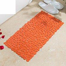 Pvc non-slip mat,badezimmer matte,dusche fußauflage-C 54x54cm(21x21inch)