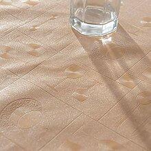 PVC Ölbeständige Tischdecke Wasserdichte