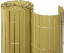 PVC Sichtschutz bambus 1,8 x 10 m Rolle
