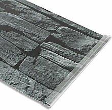 PVC Sichtschutzstreifen 19 cm x 35 m mit