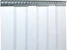 PVC Streifenvorhang Lamellen 2x200mm - H1,50 x