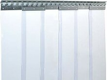 PVC Streifenvorhang Lamellen 2x200mm - H2,25 x