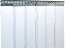 PVC Streifenvorhang Lamellen 2x200mm - H2,75 x