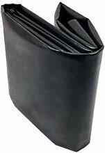 PVC Teichfolie 0,2mm Stärke Schwarze Fisch und