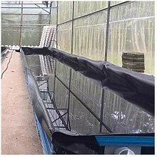 PVC Teichfolie 0,5mm Stärke Schwarze Fisch und