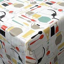 PVC Tischdecke Cucina Wachstuch • Eckig •