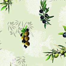 PVC Tischdecke Oliven grün Wachstuch • Eckig
