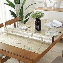 PVC-Tischdecke, Plastiktischschutz Wasserdicht