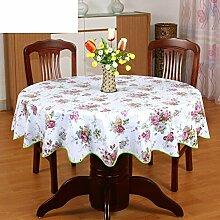 PVC Tischdecke Runde Tischdecke Für Hotels