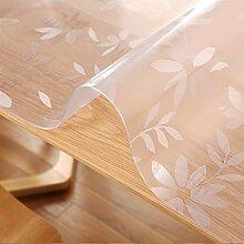 PVC Tischdecke Transparent Transparent Tischsets