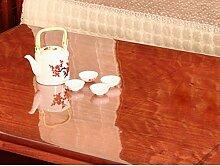 Pvc tischdecke/wasserdicht], vermeiden sie bügeln tisch matte/weiches glas,transparent,frosted,kunststoff tischdecken/teetisch matten/dicke kristall plate tisch matte-A 70x140cm(28x55inch)