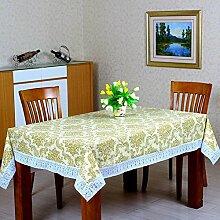 PVC Tischdecke/Wasserdichte Oilproof Und Hotproof Tischdecke/Tischwäsche Für Den Hausgebrauch-C 152x152cm(60x60inch)