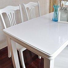 PVC Tischdecke/Wasserdichte Tuch/Glas Kunststoff Tischdecke-J 90x100cm(35x39inch)