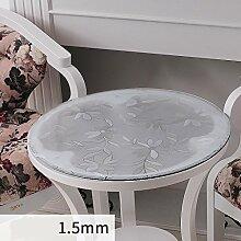 PVC-Tischdecke Waterproof Soft Glass Tischset Tischdecke Crystal Plate ( größe : 150*150cm )