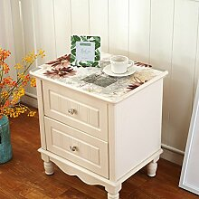 PVC Tischset/Schuhschachtel,Schubladen,Tv-schrank,Nachttisch,Kapuze Zurückgezogen/Kunststoff Tischdecken/TV Schrank Tisch Tuch Pad-A