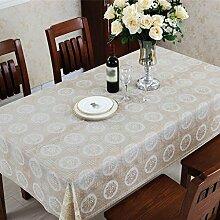 PVC-Tischtuch, wasserdichte Kaffeematten, Tischtuch Öl weiches Glas , #1 , 60*137cm