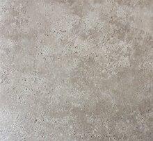 PVC Vinyl-Bodenbelag im beigen Bruchsteindekor  