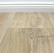 PVC Vinyl-Bodenbelag in gekalkter Holzoptik Eiche