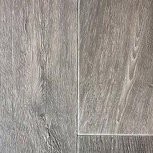 PVC Vinyl-Bodenbelag modern geriffelte Holzoptik