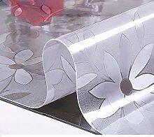 Pvc,wasserdicht,european-style tischdecken/weichglas,transparent,zu vermeiden, ein bügeleisen/-brett tischdecken/tv-schrank,kristall-untersetzer/teetisch matten-A 100x100cm(39x39inch)