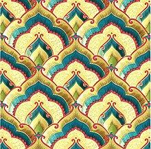 PVC wasserdicht Glitter Blattgoldfolie 3d goldene