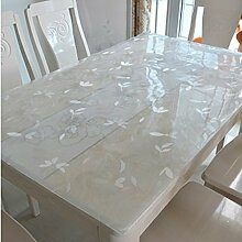Pvc,wasserdicht,weichglas tischdecke/transparente tischsets/crystal platte tischsets/einweg,frosted,tischtuch/tischdecke-B 60x60cm(24x24inch)