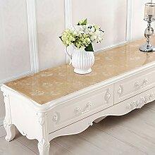 PVC Wasserdichter Schuh/Bedside Table Mat/Teetisch Matten/Crystal TV Schrank-tischdecke/Matte/Kissen-B 50x240cm(20x94inch)