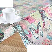 Pvc Weich Glasgewebe/Kunststoff Tischdecke/Wasser Und Öl Beweis Tischdecke/Crystal Plate Tisch Matte-F 100x100cm(39x39inch)