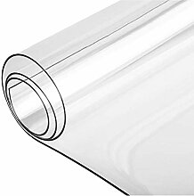 PVC-Weichglastischdecke, transparente Tischdecke,