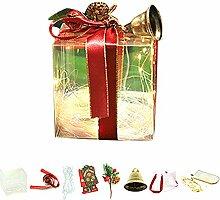 PVC Weihnachtsgeschenkbox, Süßigkeiten