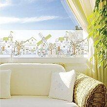 PVCOLL Fensterfolien Glasfolie Korea Milchglas