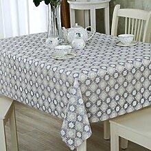PVCwasserdichte Tapete/Hohlen Oilproof und wasserdichte Tischdecken/Tischdecke decke/ Jacquard Tischdecke/ Einweg-Tischdecke-P 138x190cm(54x75inch)