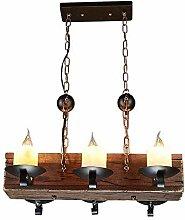 PXY 6 Lampen Steampunk Eisen Glas Kronleuchter