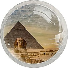 Pyramide Küchenknopf Klarglasschrank Zugschraube