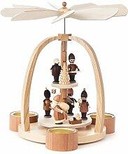 Pyramide modern mit Striezel-Kindern und