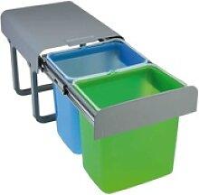 Pyramis Einbau-Abfallsammler COLOR 2-fach 038001601