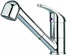 Pyramis FESTIVO ND Küchen-Armatur mit Schlauchbrause, Chrom.  Für Heißwasser-Boiler, Niederdruck, 095201004
