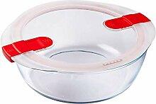 Pyrex 208PH00 Aufbewahrungsbehälter, Glas, farblos