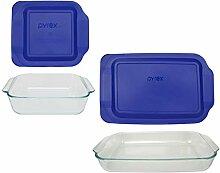 Pyrex Basics Auflaufform aus transparentem Glas, 1