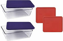Pyrex Basics Frischhaltedosen aus transparentem