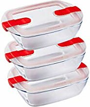 Pyrex Cook and Heat Cook & Heat – Set aus 3