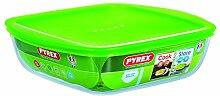 Pyrex Cook Store & Deckel Auflaufform quadratisch